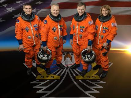 STS 135 crew
