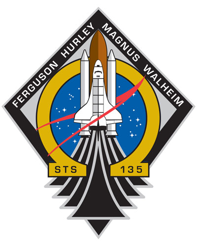 STS 135 patch